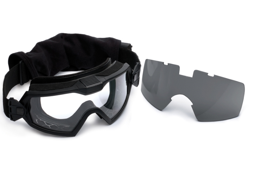 11948e7bf9b4c ... Smith Optics Outside the Wire (OTW) Turbo Fan Goggles in Black w  Clear  ...