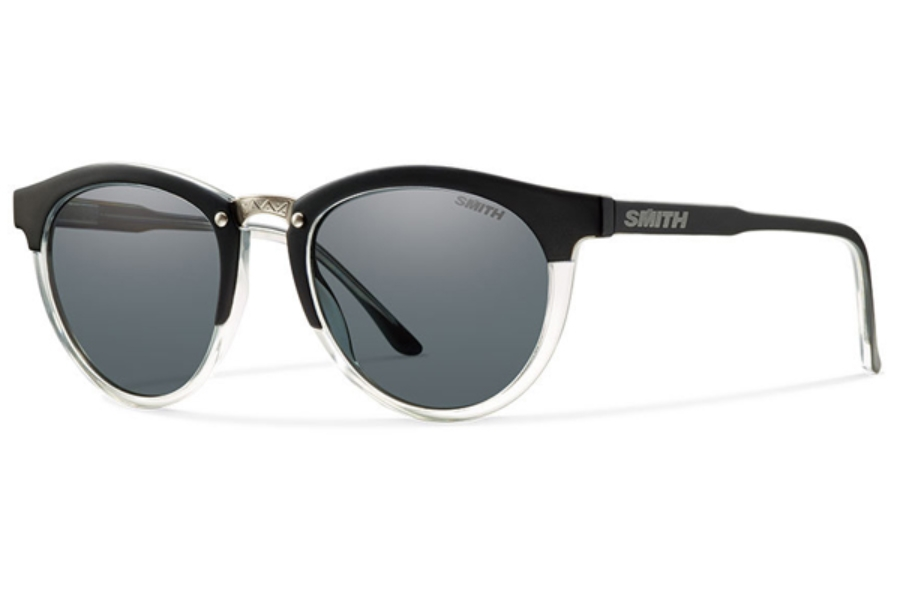 Smith Optics Questa Sunglasses in 0FWV Matte Black Crystal / Gray