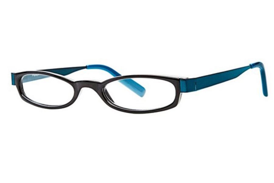 Scojo New York Readers Popeye X Eyeglasses in Black/Teal