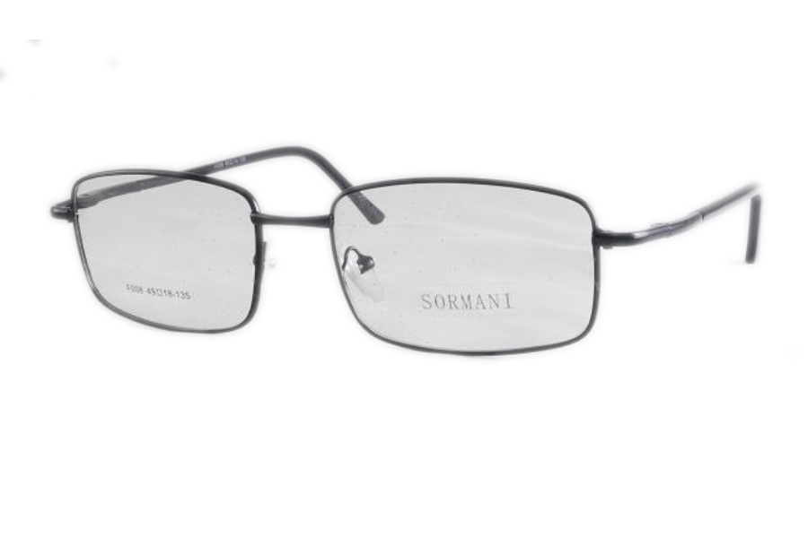 Sormani F008 Eyeglasses in Black