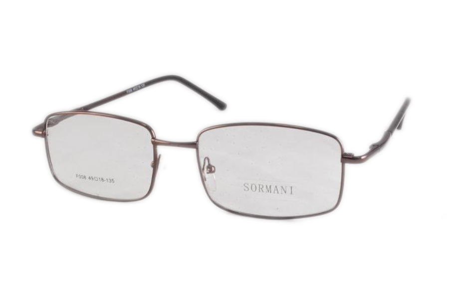 Sormani F008 Eyeglasses in Brown