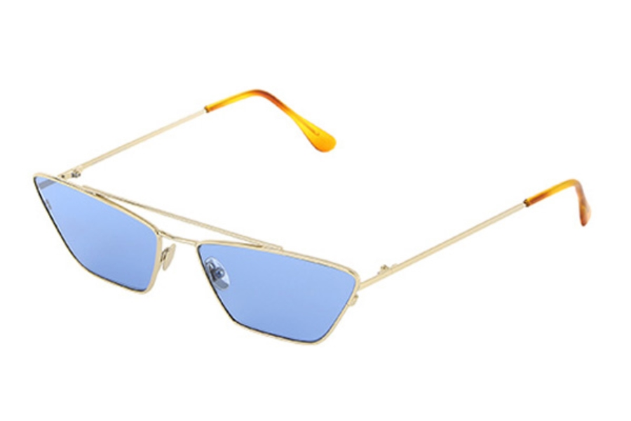 Spektre Vanity Sunglasses in VY01AFT Gold / Blue Pastel
