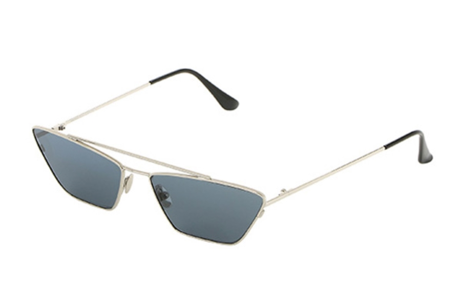 Spektre Vanity Sunglasses in VY02AFT Silver / Smoke
