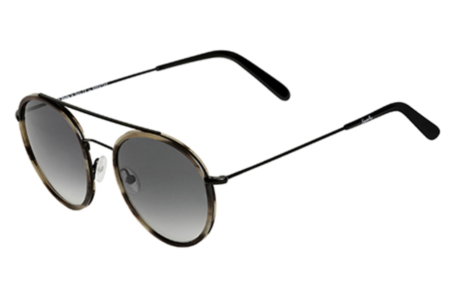 Spektre Vanni Sunglasses in VA02B Black Havana / Gradient Smoke