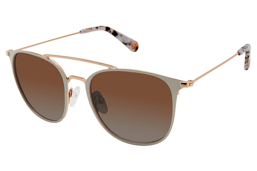 Sperry Top-Sider Tierra Sunglasses in C03 Bone White - Polarized