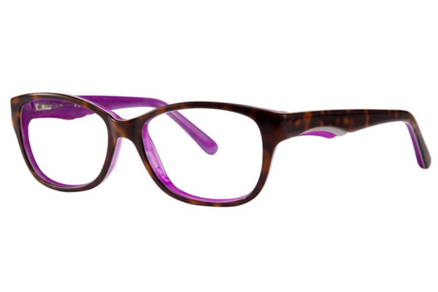 Vivid Splash Splash 61 Eyeglasses in Demi Purple