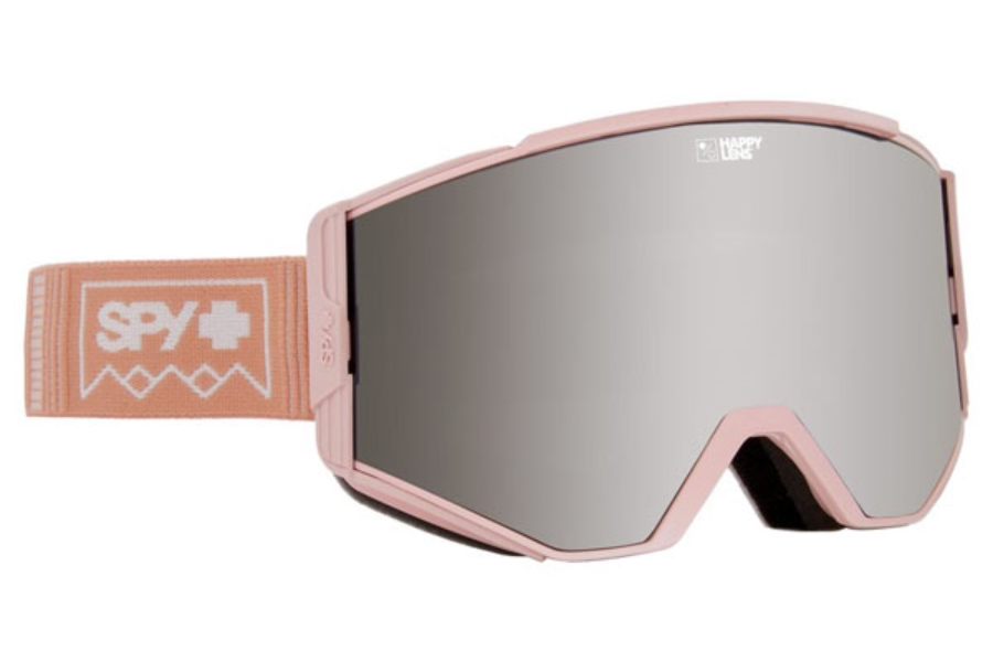 Spy ACE - CONTINUED Goggles in Deep Winter Rose Quartz w/Happy Gray Green with Silver Spectra + Happy Yellow with Lucid Green