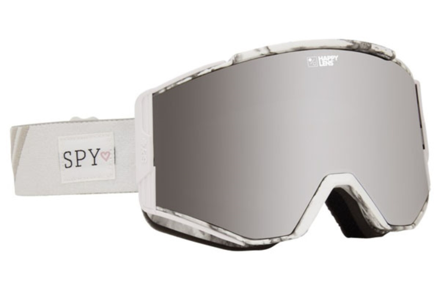 Spy ACE - CONTINUED Goggles in Spy + Maude Raymond w/Happy Gray Green with Silver Spectra + Happy Yellow with Lucid Green