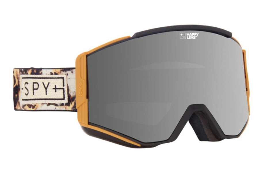 Spy ACE - CONTINUED Goggles in SPY + Phil Casabon / Happy Silver Mirror + Happy Lucid Green