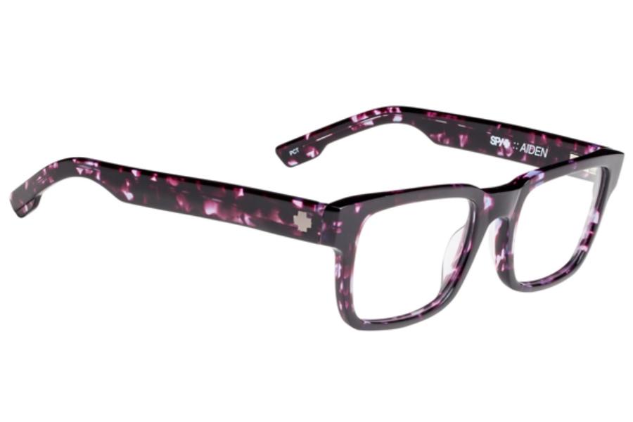 Purple Camouflage Sunglasses Rimless Brown Lenses Vertex