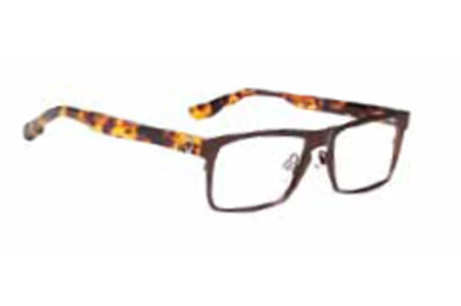 Spy Heath Eyeglasses in Mahogany