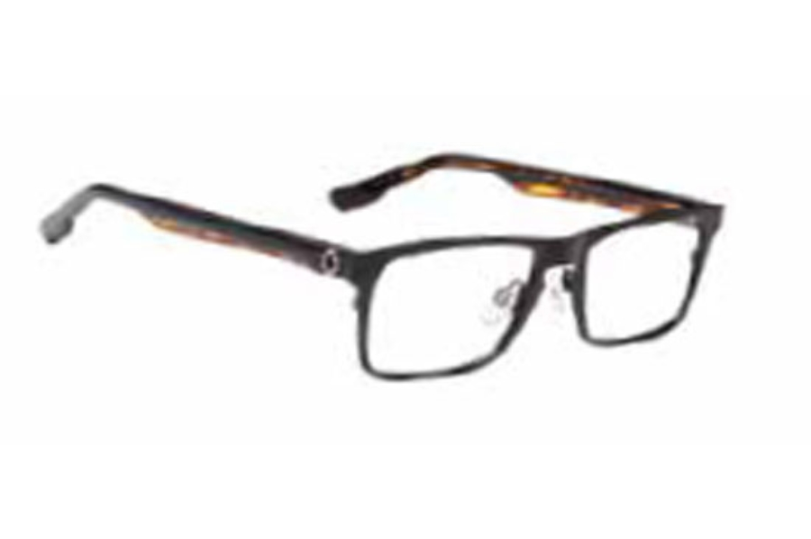 Spy Heath Eyeglasses in Matte Black