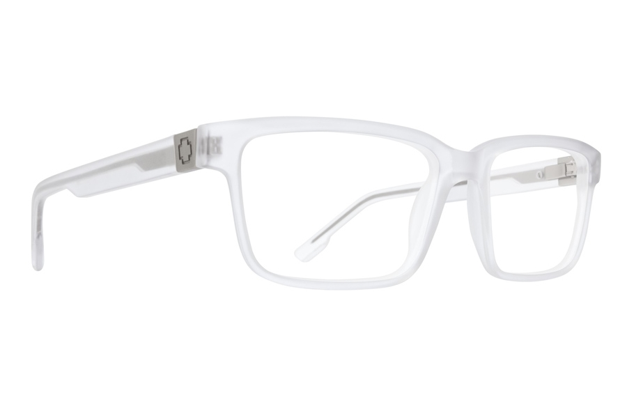 Spy Rafe Eyeglasses in Matte Clear