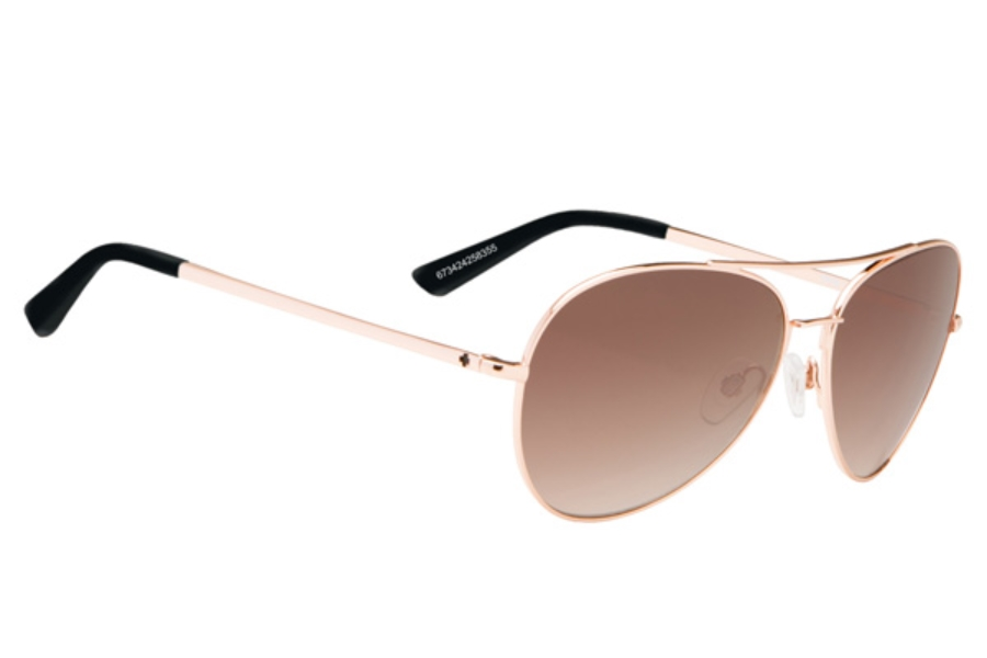 Spy WHISTLER Sunglasses in Rose Gold / Happy Bronze Fade