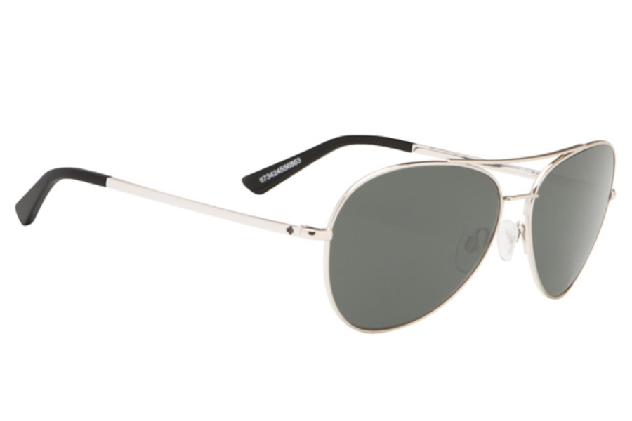 Spy WHISTLER Sunglasses in Silver / Happy Grey Green