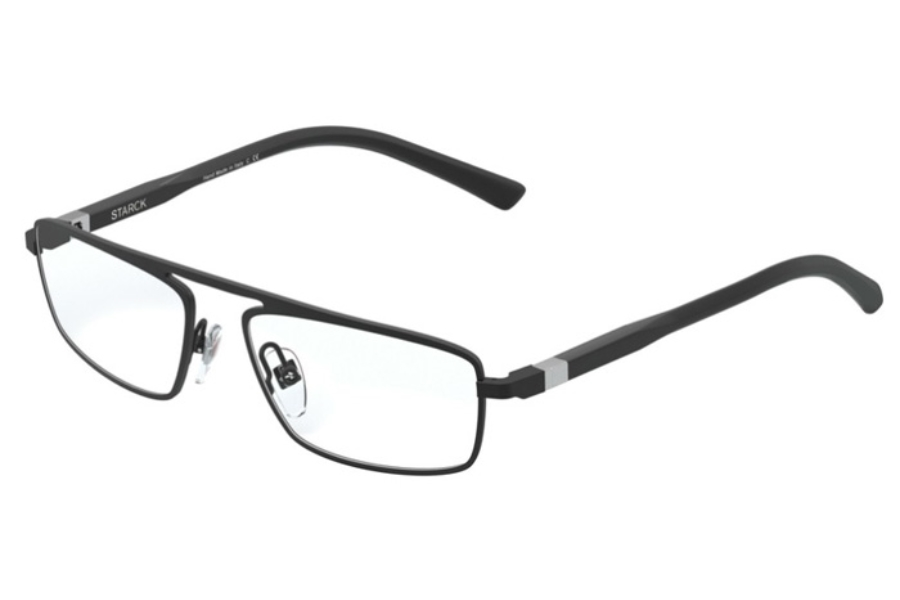 Starck Eyes SH2045 Eyeglasses in 0001 Matt Black
