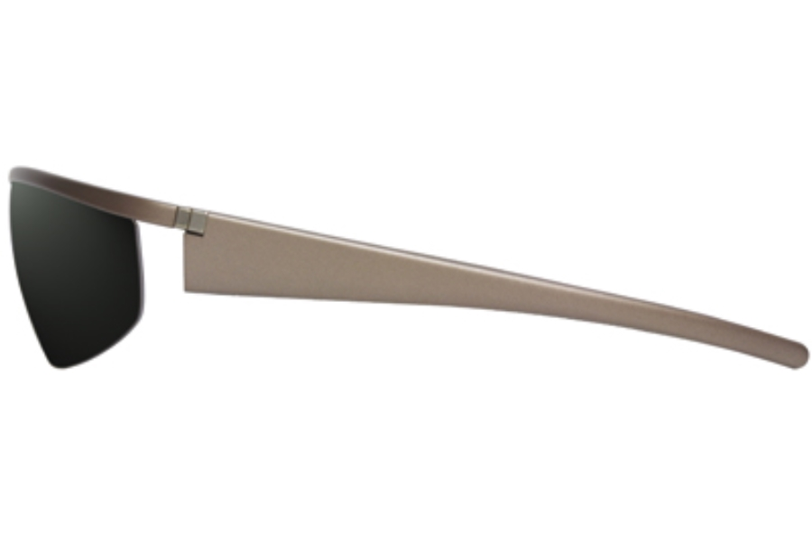 Starck Eyes PL403 Alux Sunglasses in 02 Gris Fonce Satine