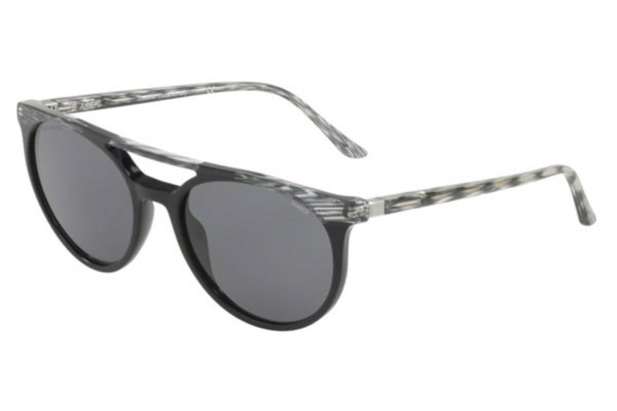 Starck Eyes SH5020 Sunglasses in 000181 Grey Black/Dark Grey Polar
