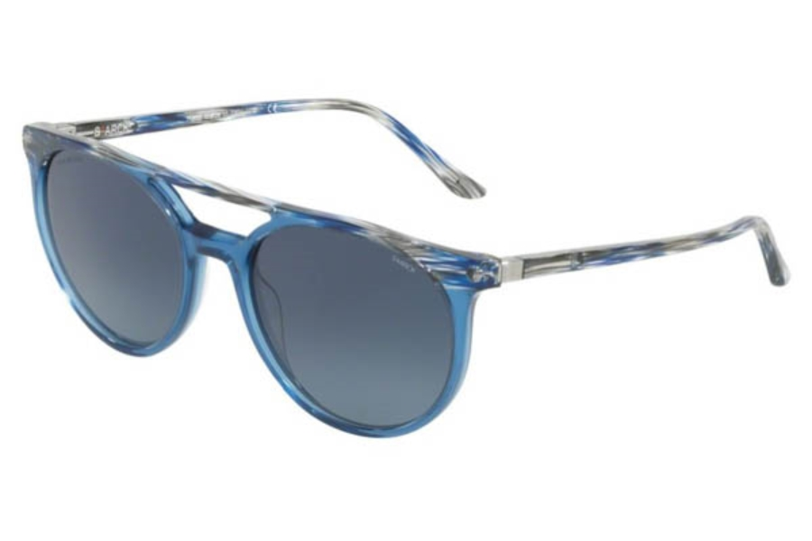 Starck Eyes SH5020 Sunglasses in 0002Au Blue Grey Light Trasparent Blue/Dark Blue Gradient Polar