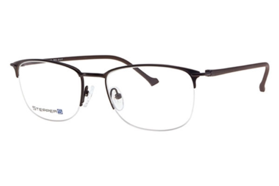 Stepper Stainless Steel 40102 STS Eyeglasses in Stepper Stainless Steel 40102 STS Eyeglasses