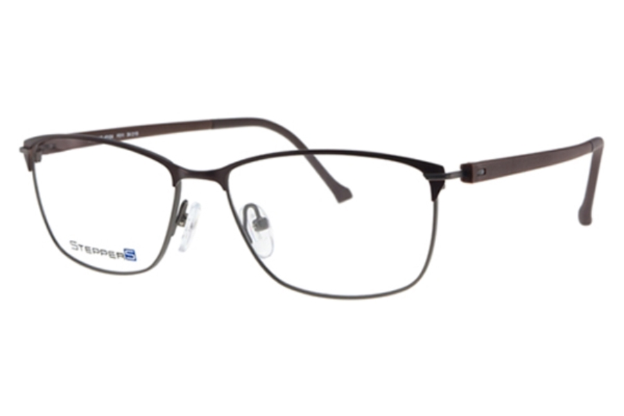 Stepper Stainless Steel 40104 STS Eyeglasses in Stepper Stainless Steel 40104 STS Eyeglasses
