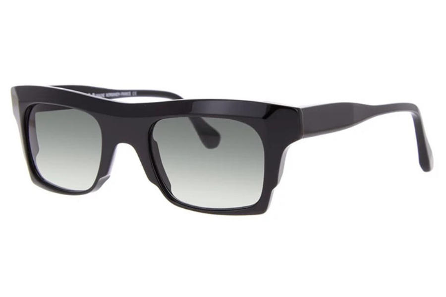 Struktur The Beast Sunglasses in Black