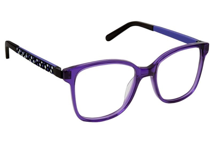 SuperFlex KIDS SFK-198 Eyeglasses in 3 Grape Purple