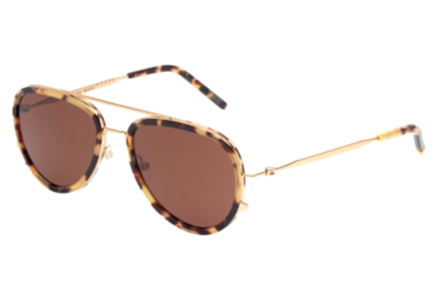 Tomas Maier TM0009S Sunglasses in 002 Gold/Brown Lens