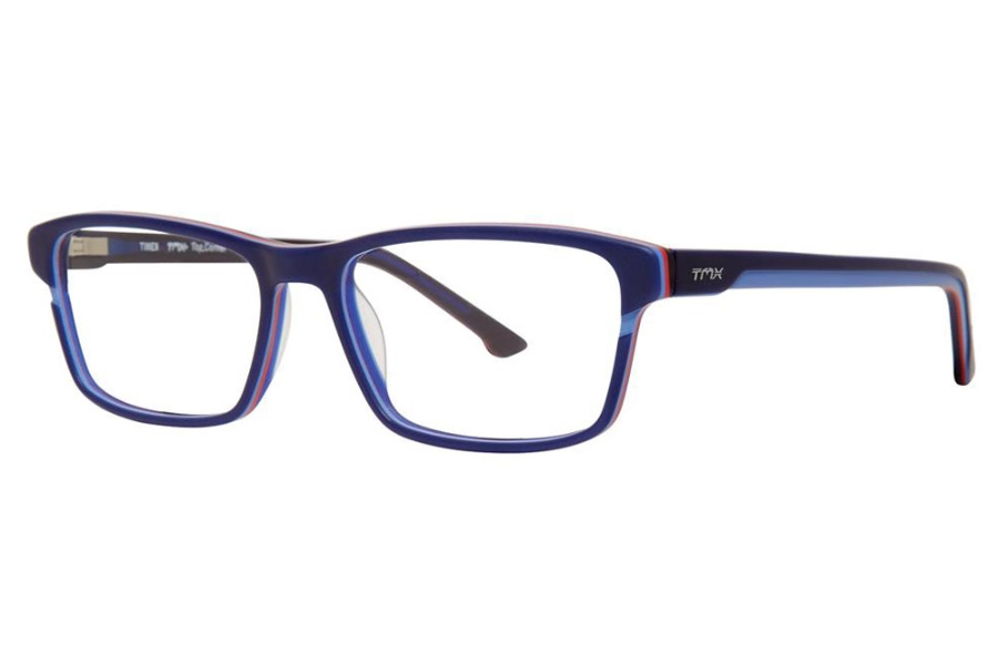 TMX by Timex Top Corner Eyeglasses in Navy