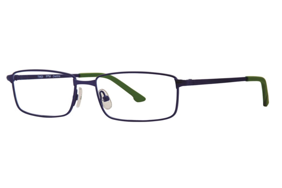 TMX by Timex Overtime Eyeglasses in Navy