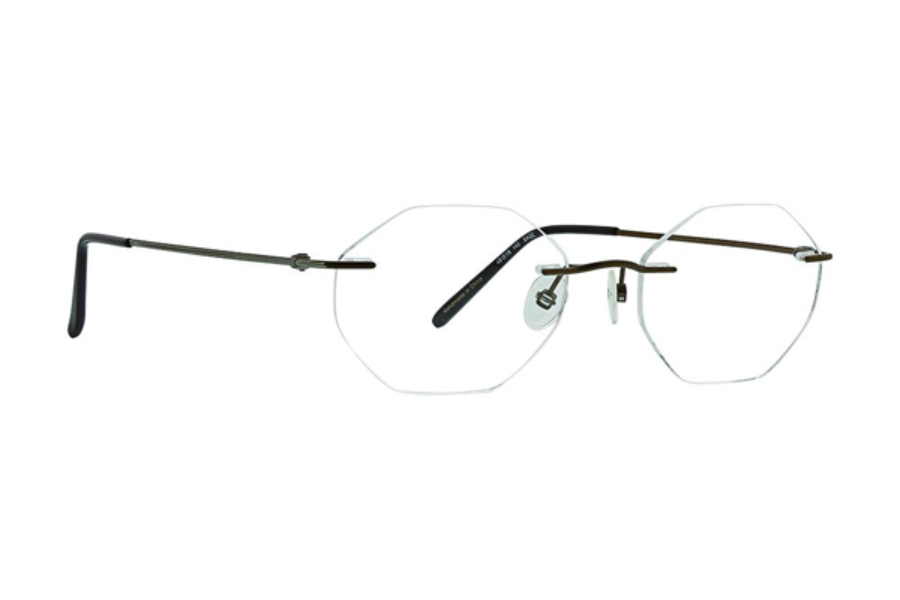 Totally Rimless TR Venture 254 Eyeglasses in Sage