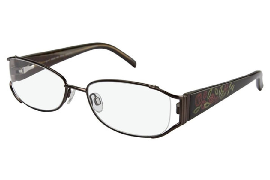 Tura 182 Eyeglasses in BRN Brown