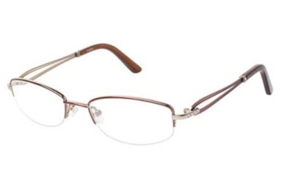 Tura R302 Eyeglasses in Rose With Silver