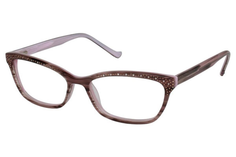 Tura R616 Eyeglasses in BRN Brown
