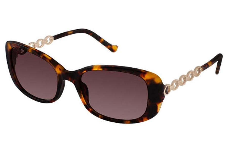 Tura 064 Sunglasses in TOR Tortoise