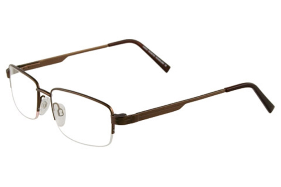 Cargo C5036 w/magnetic clip on Eyeglasses in 15 Matte Antique Gold