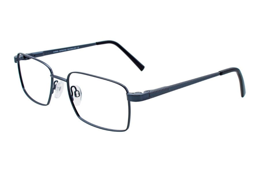 Cargo C5039 w/magnetic clip on Eyeglasses in 50-Satin Steel Blue