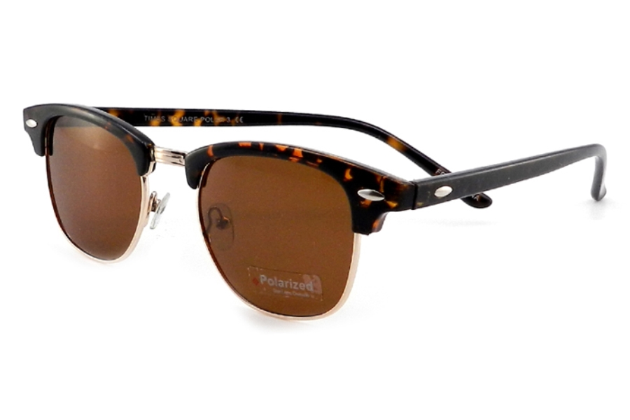 Times Square Polar 3 Sunglasses in Amber/Gold
