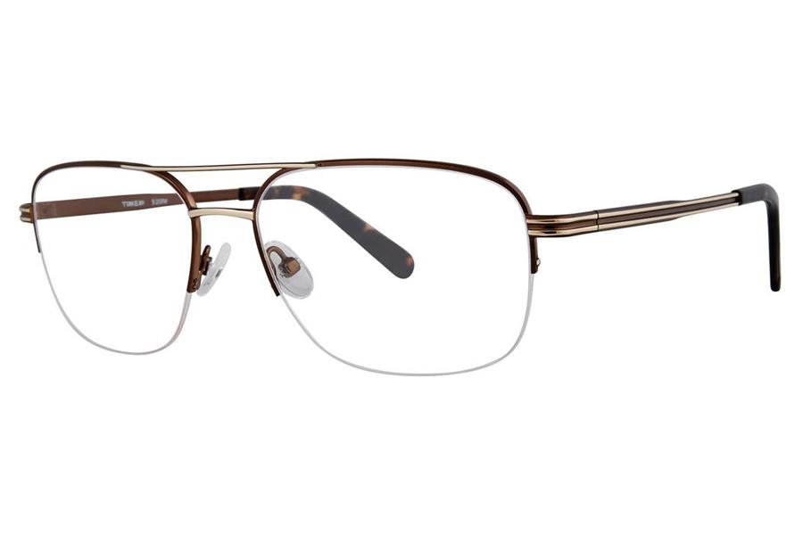 20 PM Brown Eyeglasses Timex 4