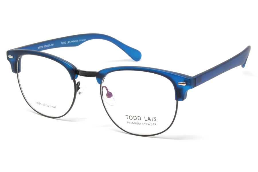 Todd Lais TL M024 Eyeglasses in Blue