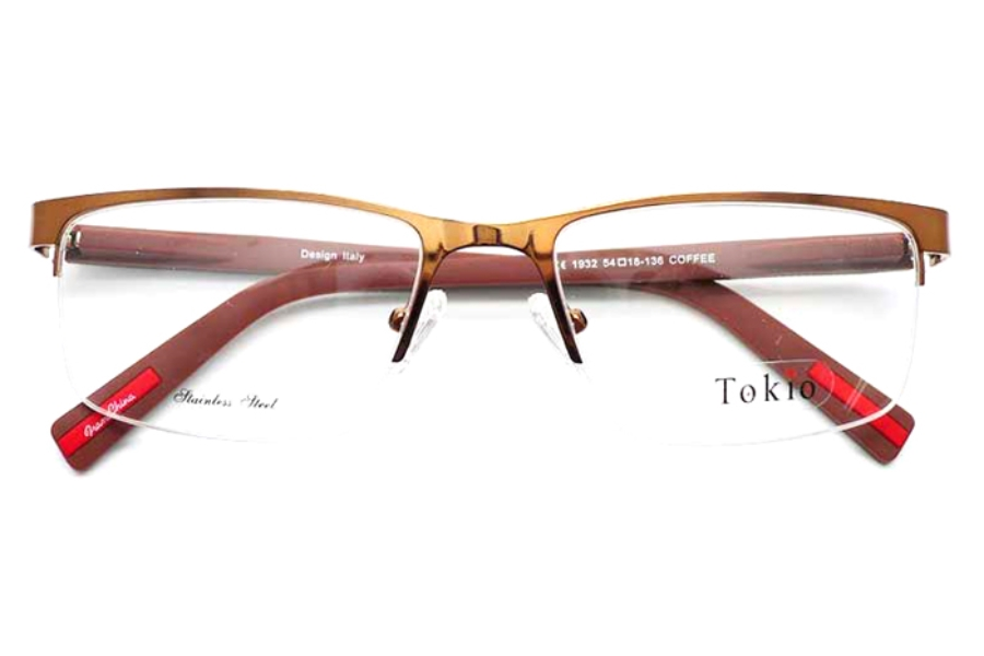Tokio Tokio 1932 Eyeglasses in Coffee