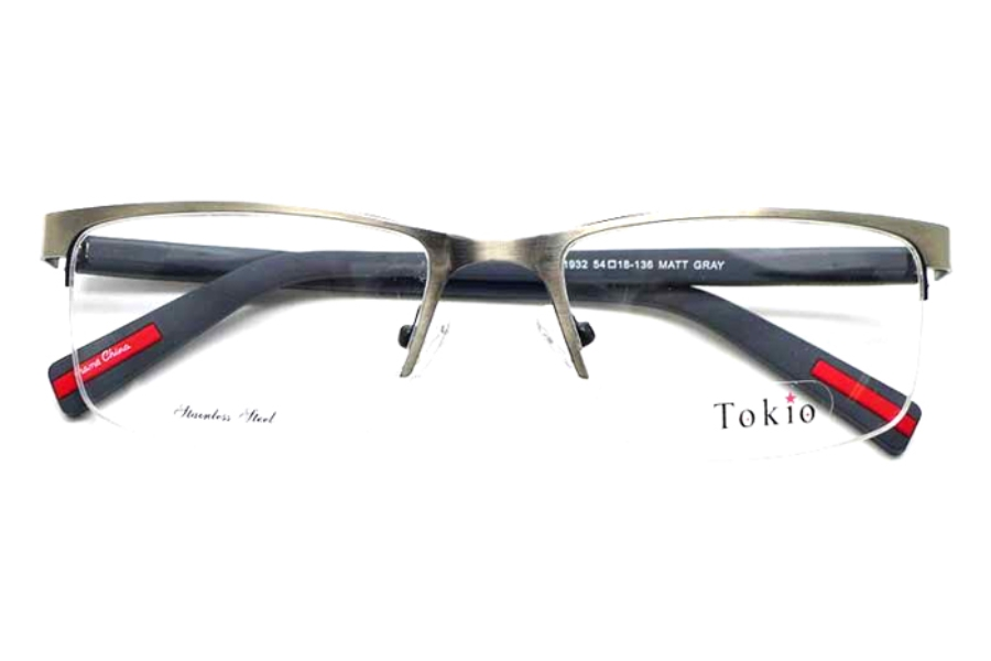 Tokio Tokio 1932 Eyeglasses in Matte Gray