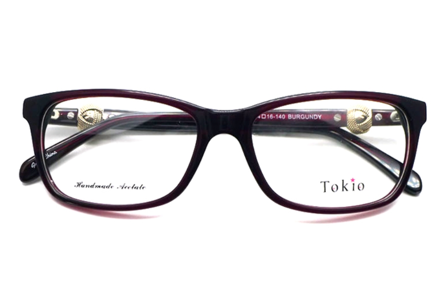 Tokio Tokio 3891 Eyeglasses in Burgundy