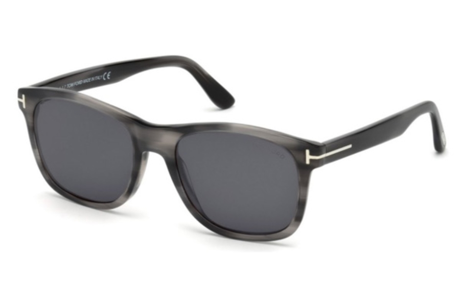 Tom Ford FT0595 Eric-02 Sunglasses in 20A - Grey/Other / Smoke