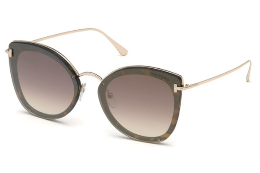 Tom Ford FT0657 Charlotte Sunglasses in Tom Ford FT0657 Charlotte Sunglasses