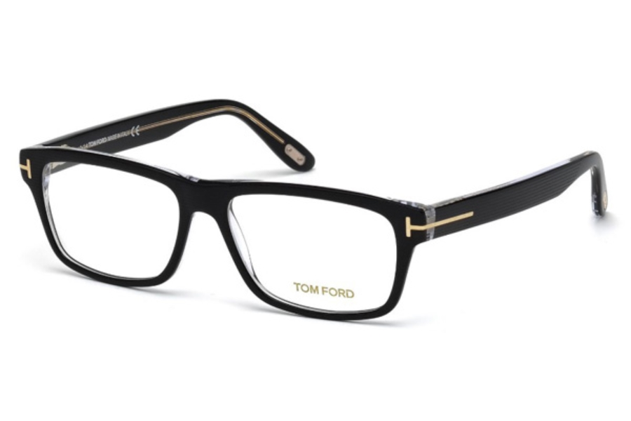 Tom Ford FT5320 Eyeglasses in 005 - Black/Other