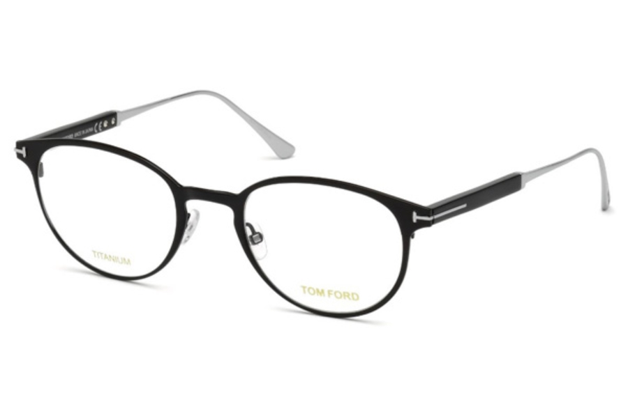 Tom Ford FT5482 Eyeglasses in 001 - Shiny Black