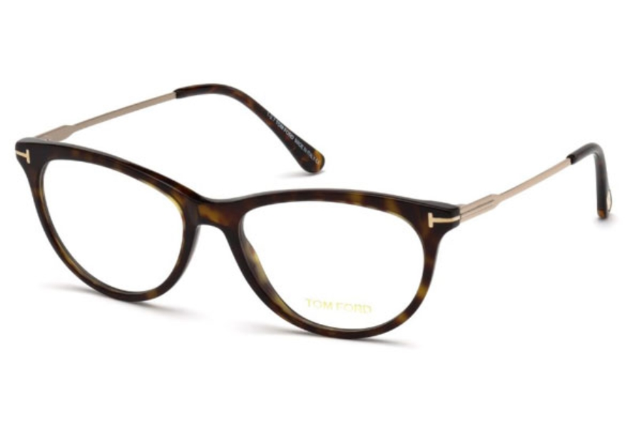 Tom Ford FT5509 Eyeglasses in 052 - Dark Havana