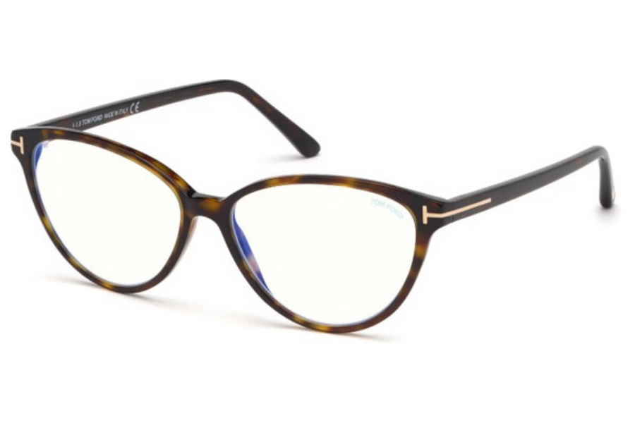 Tom Ford FT5545-B Eyeglasses in 052 - Dark Havana
