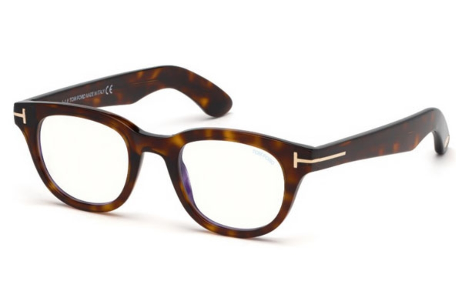 Tom Ford FT5558-B Eyeglasses in 052 - Dark Havana